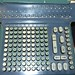 Small photo of Old mechanical adding machine