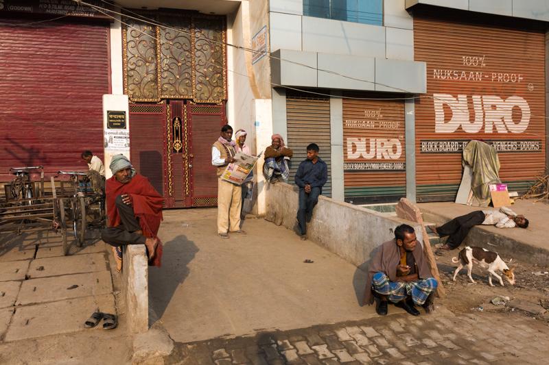 Dead drunk, Allahabad