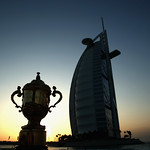 The Webb Ellis Cup completes visit to Dubai as part of Rugby World Cup Trophy Tour