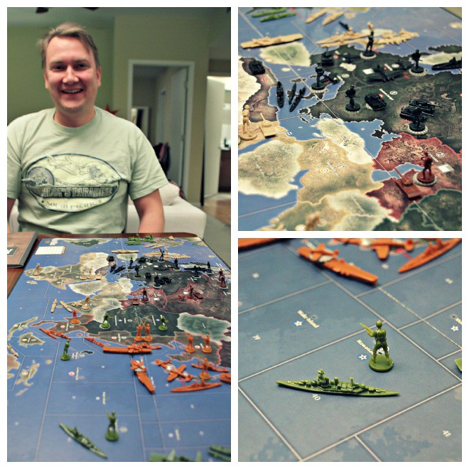 Playing Axis & Allies 1941