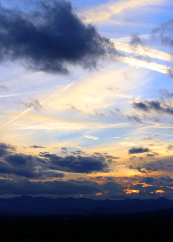 sunset blueridgemountains groveparkinn ashevillenc ashevillenorthcarolina groveparkinnsunset sunsetoverblueridgemountains