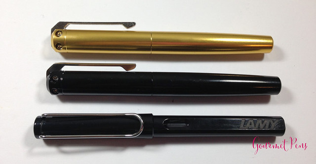 Review: @KarasKustoms Ink Fountain Pen - Black/Copper & Gold/Brass