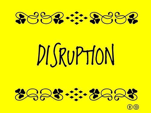 Buzzword Bingo: Disruption