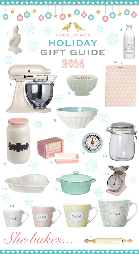 She bakes...Gift Guide 2014