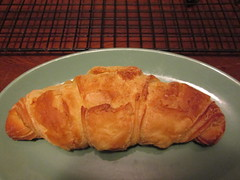 a vegan croissant!