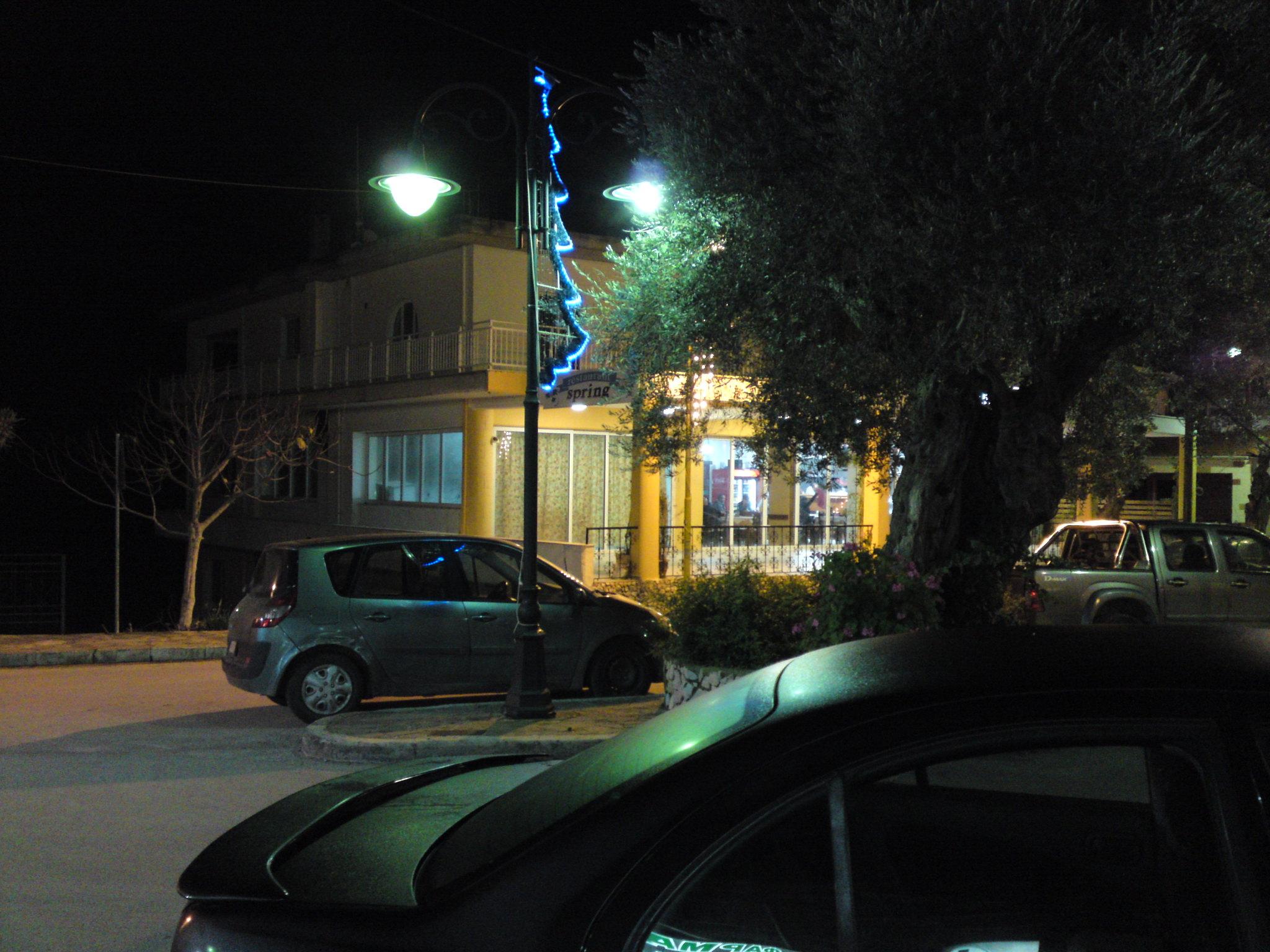 Φωταγώγηση Χριστουγεννιάτικων στολιδιών, Ψίνθος 2014