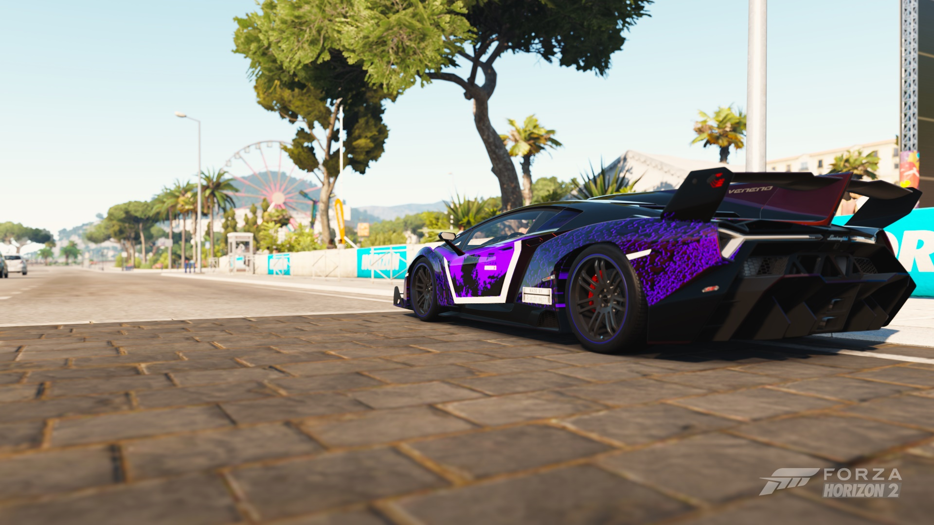 Lamborghini Veneno Is One Of Best Cars In Forza Horizon 2. Be Best And Look  Like Best With This Design.