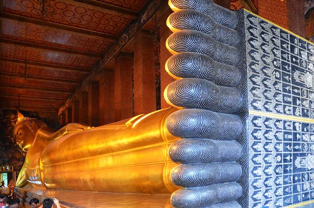 Buda reclinado de Bangkok