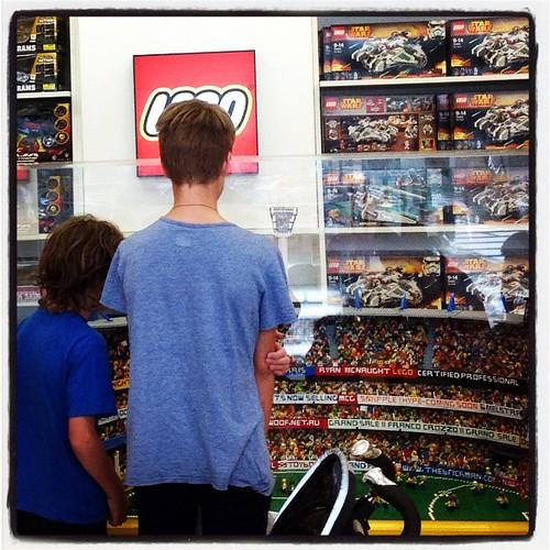 Lego MCG at Myer Melbourne.