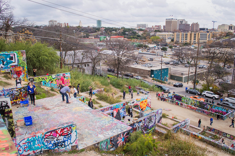 HOPE Outdoor Gallery View of Austin City