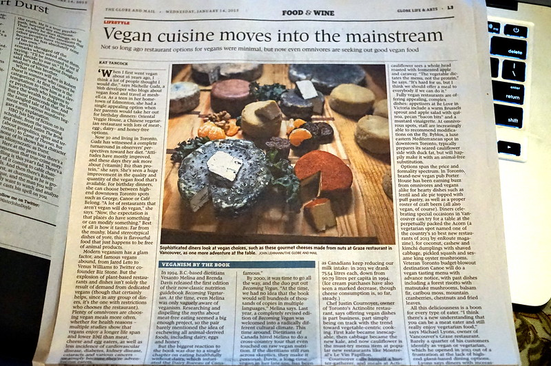 Veganism Goes Mainstream