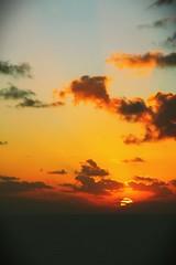 加勒比海 日落