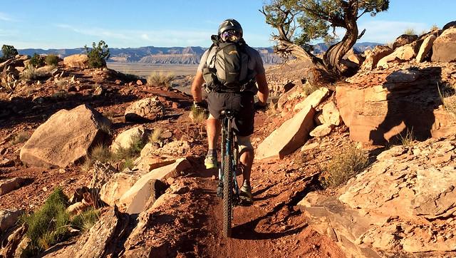 Mountain Biking Klondike Bluffs, Moab ( https://www.trailsource.com/scripts/four.asp?ID=6507&TYPE=BIKE ) #mtb #mountainbiking #moab