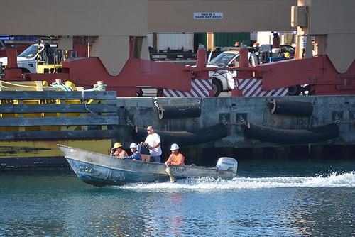 Matson work boat