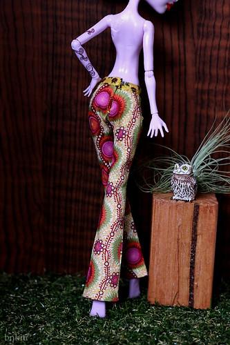 Pants for Monster High doll