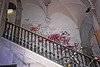 Bicycle on Stairs with Grafitti Walls 2