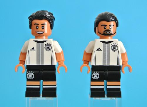 Lego manuel neuer dfb series choose parts legs torso head hair football