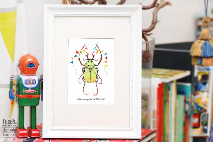 Child's Room Beetles