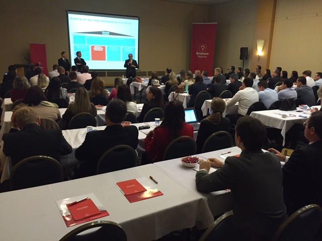 Bradesco Seguros promove workshop no Paraná