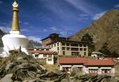 Nepal, Komfort-Trekking Everest-Gebiet. Kloster Tengpoche. Foto: Archiv Härter.