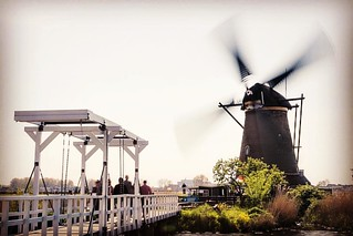 Historical Windmill in Kinderdijk Netherlands. | by MRFotografie