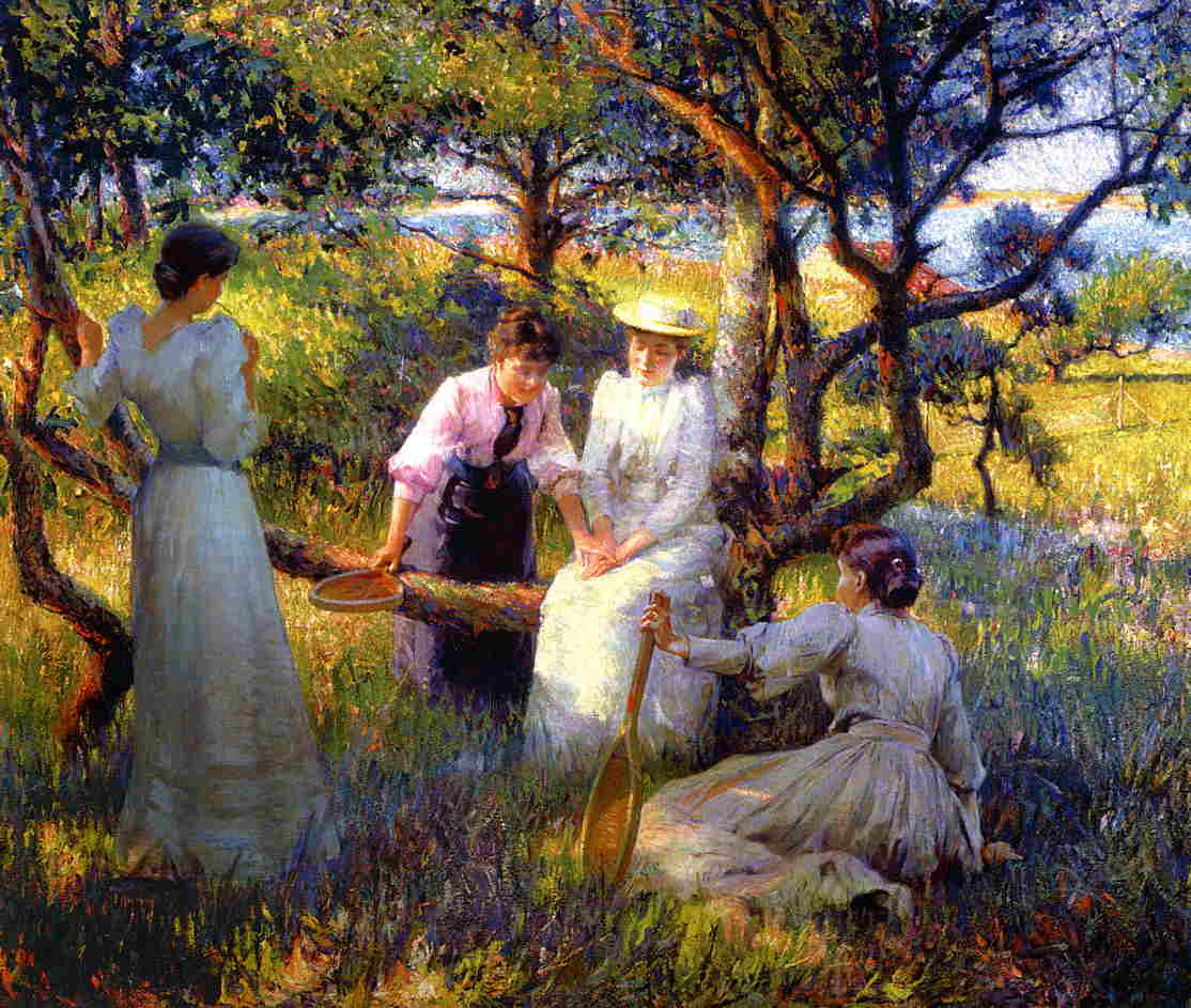 The Ring by Robert Vonnoh, 1892