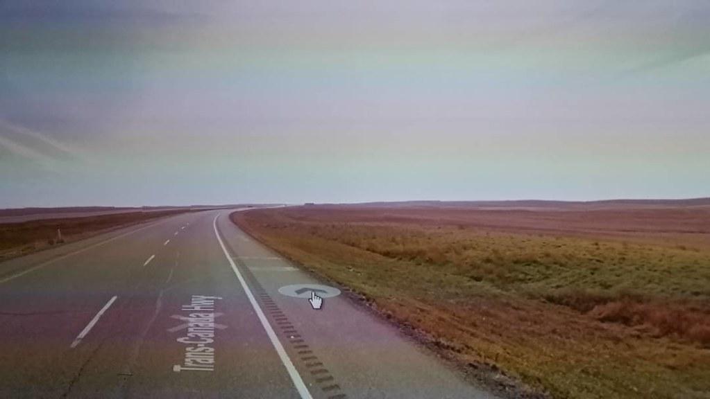 Prairie road #ridingthroughwalls in Alberta.