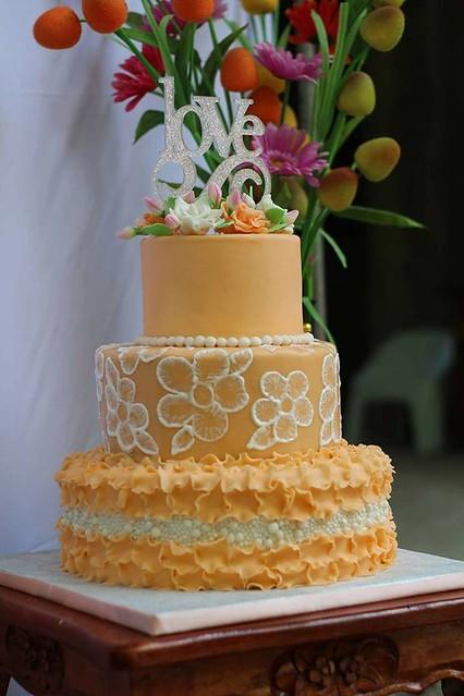 Wedding Cake by Donna Lea Igharas-Bacunawa