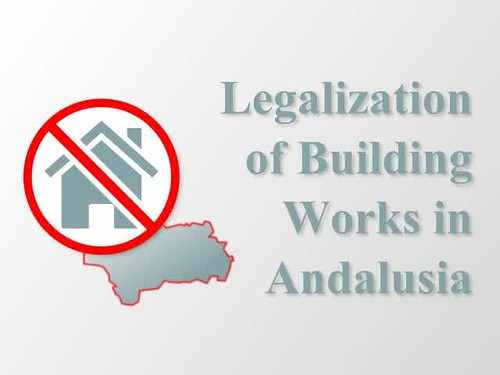 Legalization procedure for building works in Andalusia