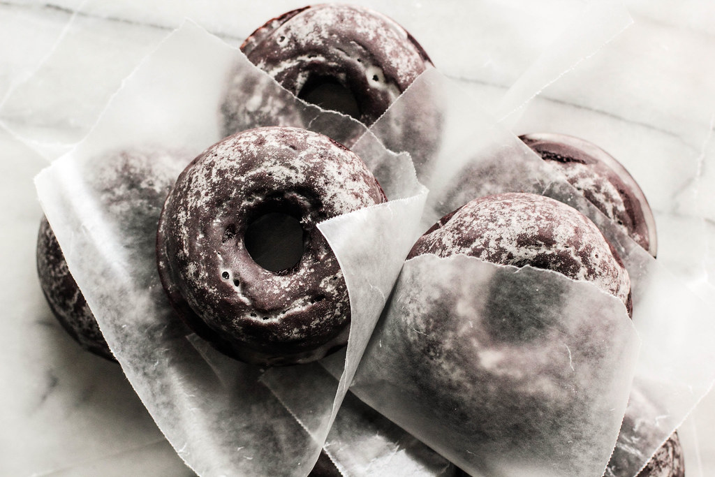 Pastry Affair | Glazed Chocolate Cake Doughnuts