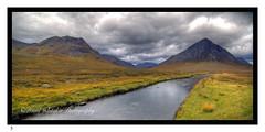Glen Etieve River, Scotland.