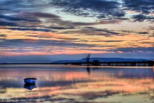 sky port reflections river skyscape boat dock nikon harbour northernireland ulster clo sunr campsie foyle lisahally d3100 nikond3100 lisahallydocks