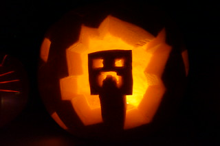 Harry's Creeper Pumpkin