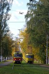 Tver tram Tatra T6B5 Tver tram Tatra T3SU 217_20141004_555