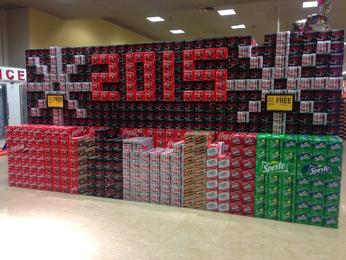 PIC: Best @CocaCola display! Happy 2015!!! @CocaColaCo