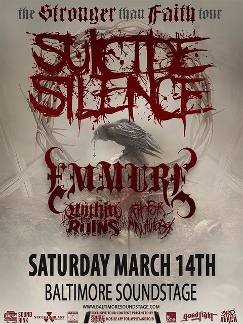 Suicide Silence at Baltimore SoundStage