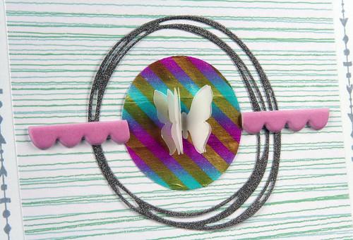 Glitter Scribble Card | shirley shirley bo birley Blog