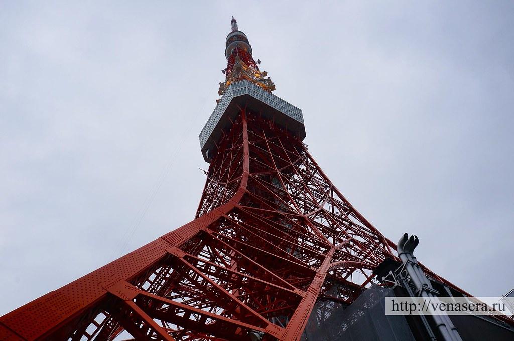 Tokyo Tower. Токийская башня.