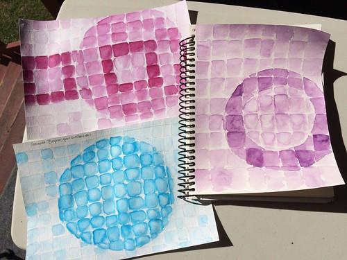 Watercolor Tonal Studies