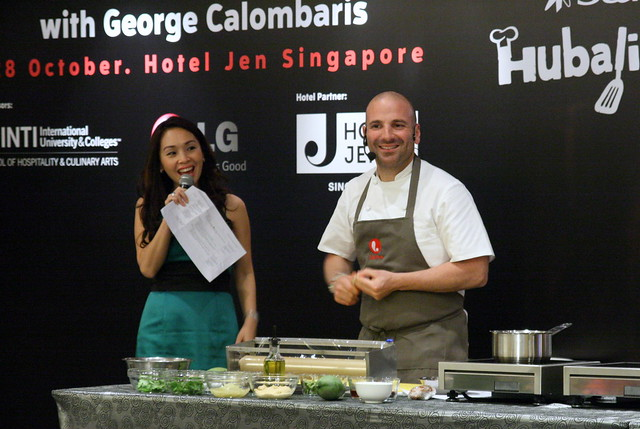 George Calombaris in Singapore
