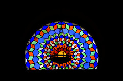 Stained glass of the Mezquita, Cordoba