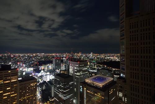 都庁展望室_夜景