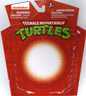 MONOGRAM INTERNATIONAL :: TEENAGE MUTANT NINJA TURTLES; COLLECTIBLE FIGURINES / RAPHAEL ..card backer (( 2014 ))