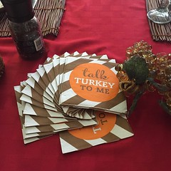 Gift from SIL. #thanksgivingdinner