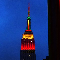 For the tourists... #Thanksgiving #ESB