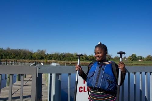 Canoeing KIPP 2014