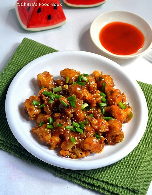 Gobi Manchurian Recipe How To Make Crispy Gobi Manchurian Chitra S Food Book