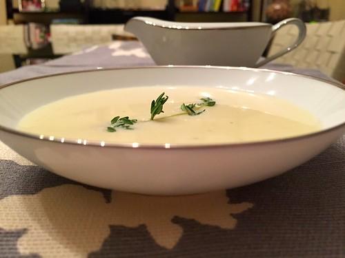 Leek and Potato Soup Dorie Greenspan