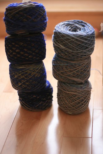 Handspun Sweater Project - singles