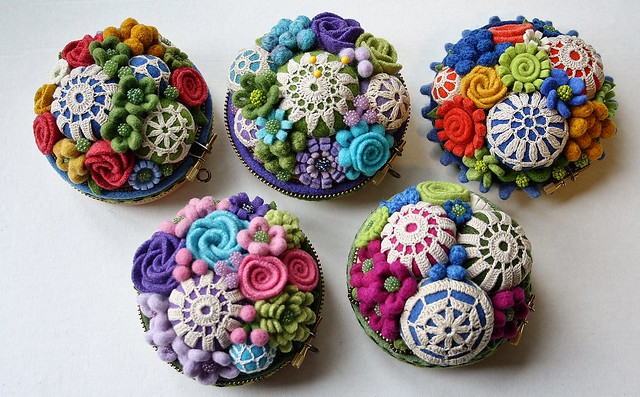 Woolly pincushions